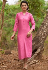 long formal kurti