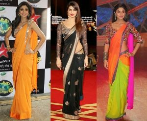 Saree Draping Styles 2018