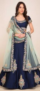 online party wear lehenga