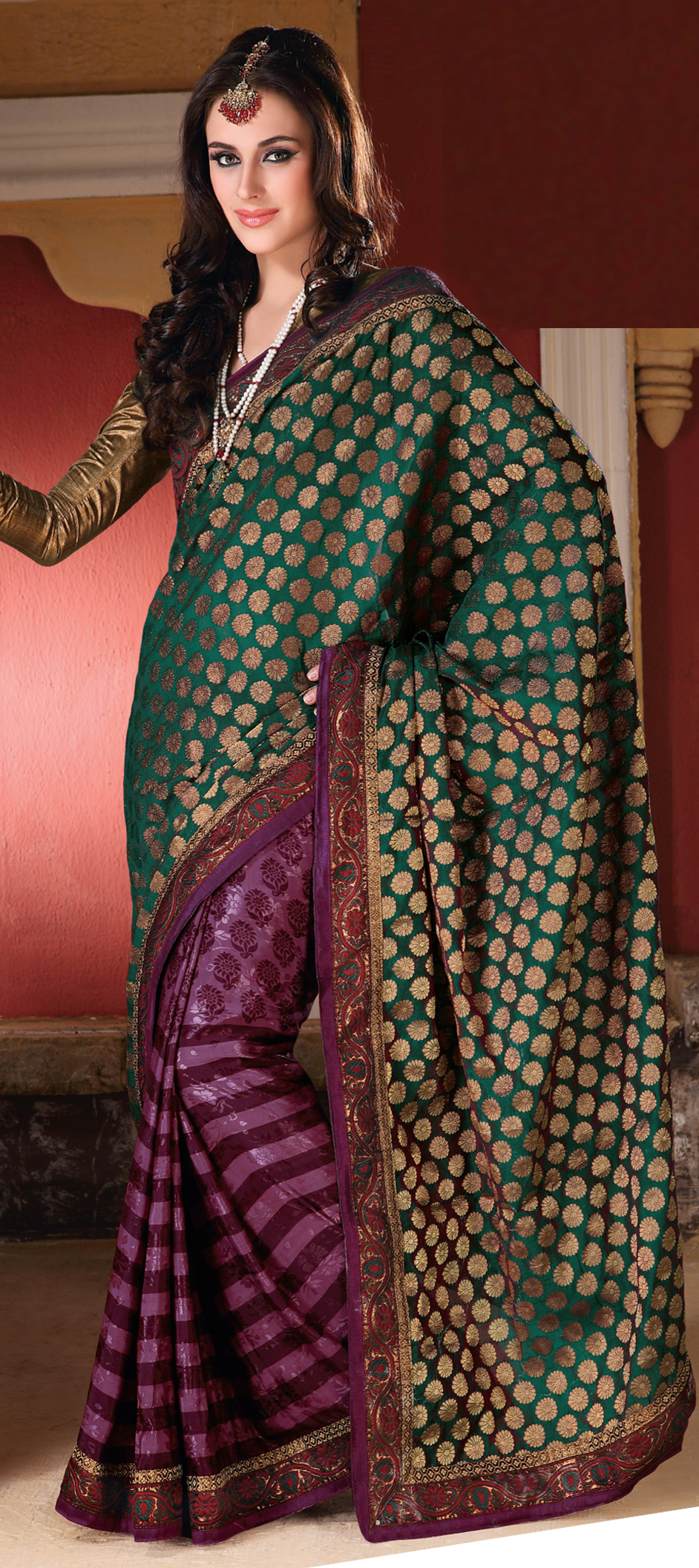 New Colors for Indian Wedding Sarees