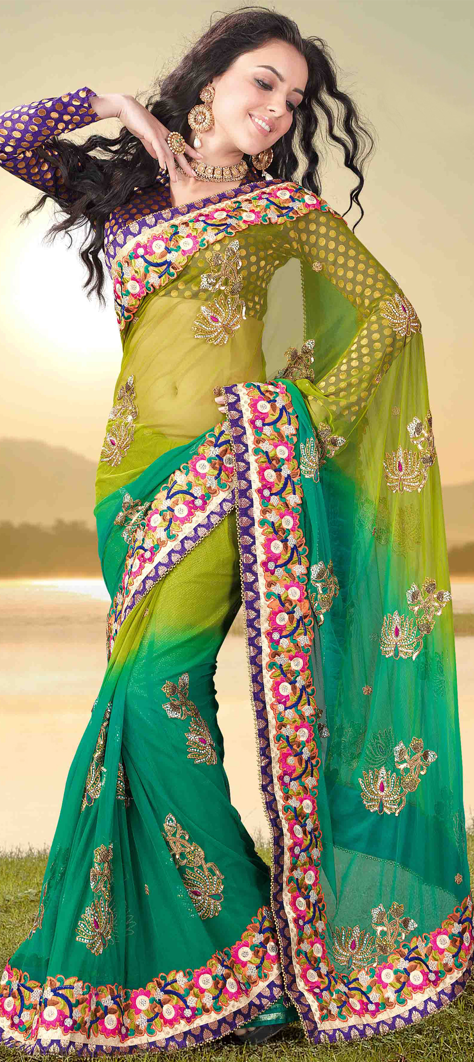How to Buy Saree From Online Portals – In 12 Simple Steps