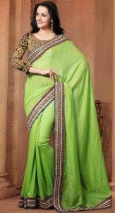 Saree with borders