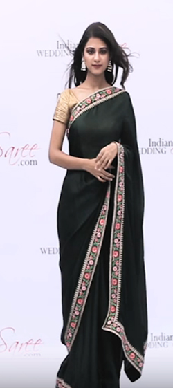 How to Wear Party Style Saree Step by Step?