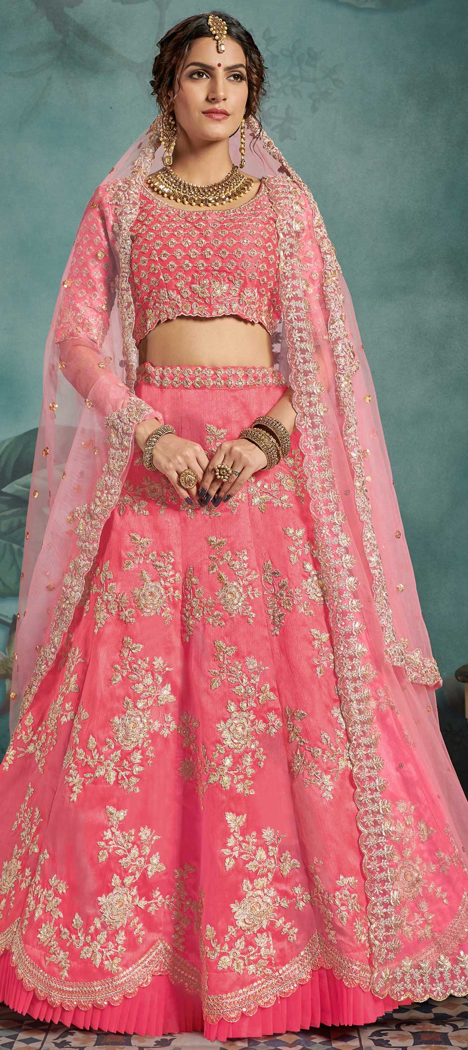 Beautiful bridal lehengas for brides who are on a budget