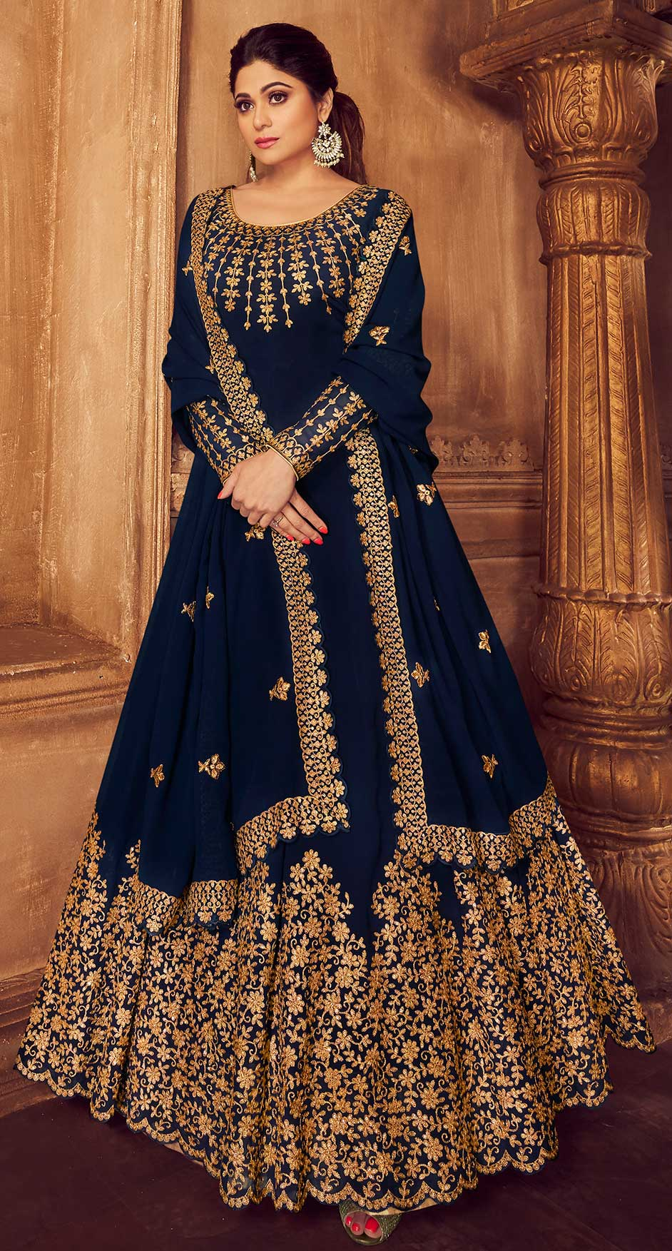 The latest trends in Anarkali Suits to watch for this festive season