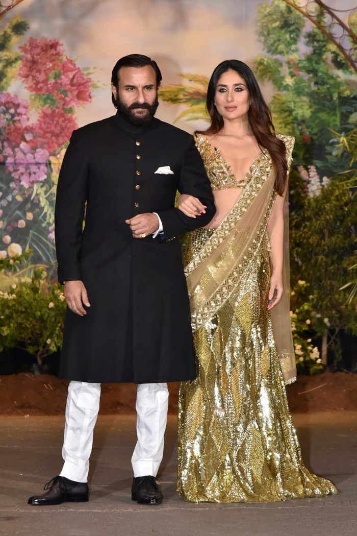 Get a Nawabi Look by adopting these traditional wedding dresses from Saif Ali Khan