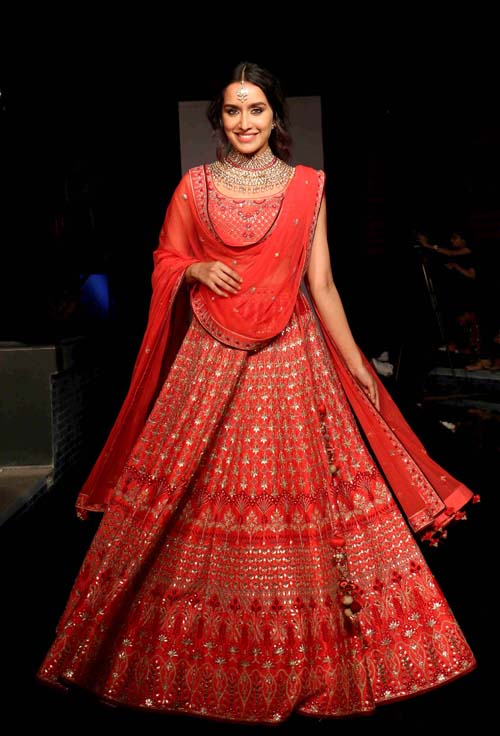 Shraddha Kapoor's Indian Wedding Dresses Are Perfect For Every Bride-To-Be