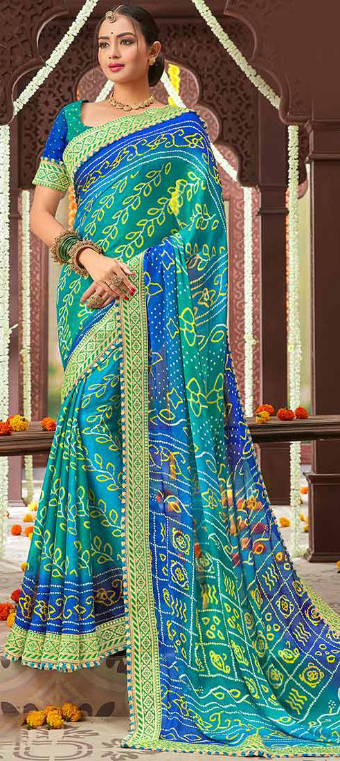 Bandhani Saree – Know More About the Celebrated Traditional Wear