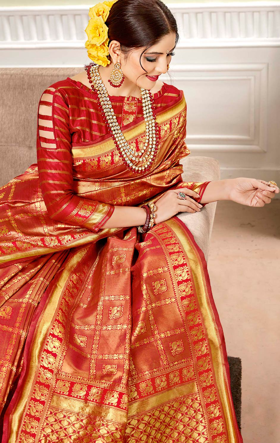 Top Traditional Wedding Sarees That Are Fervently Desired by Modern Indian Brides