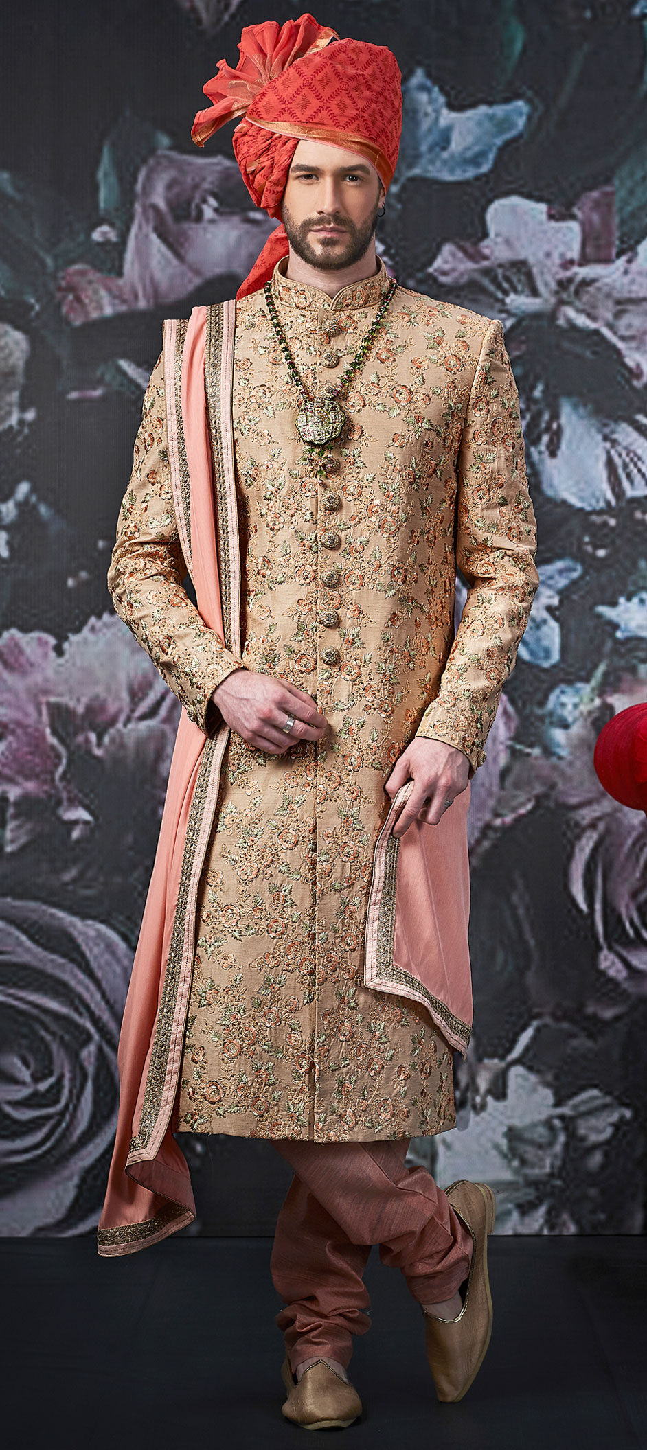 Unique Men's Wedding Sherwani Designs to Uplift the Groom's Style Quotient