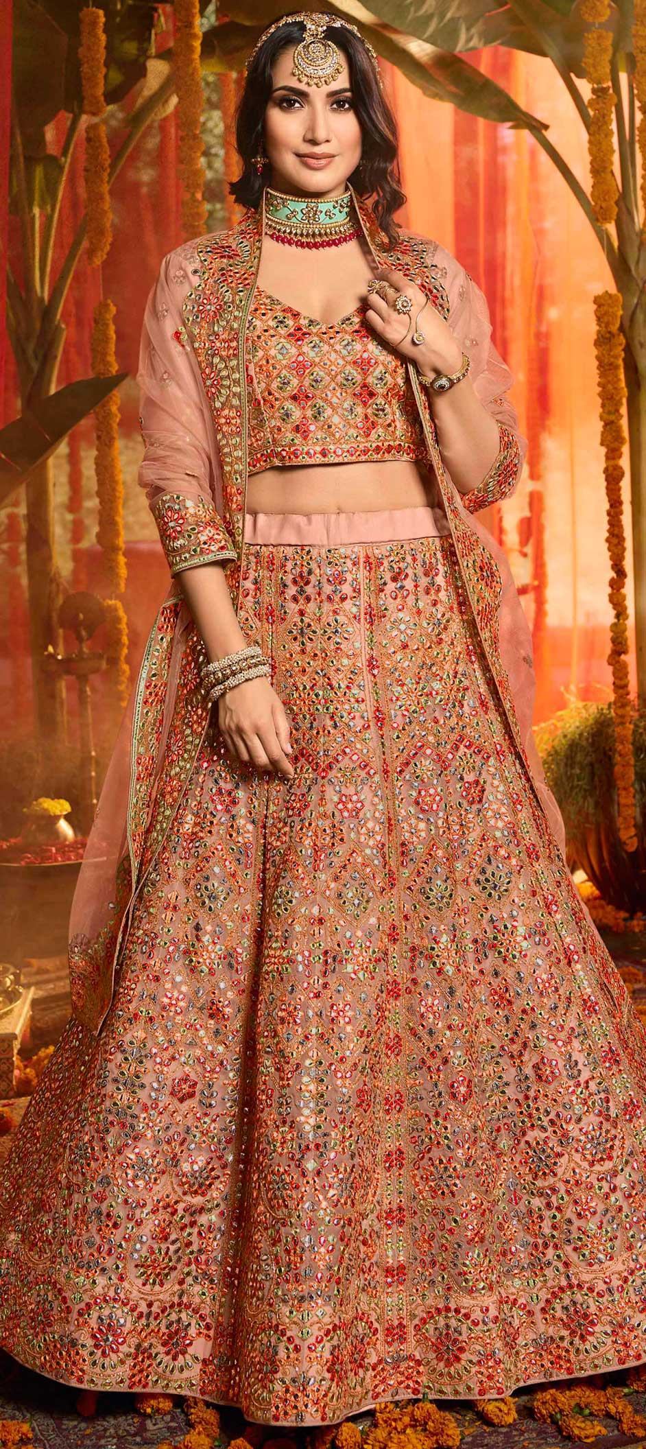 Printed Bridal Lehengas for the Gorgeous Bride-To-Be