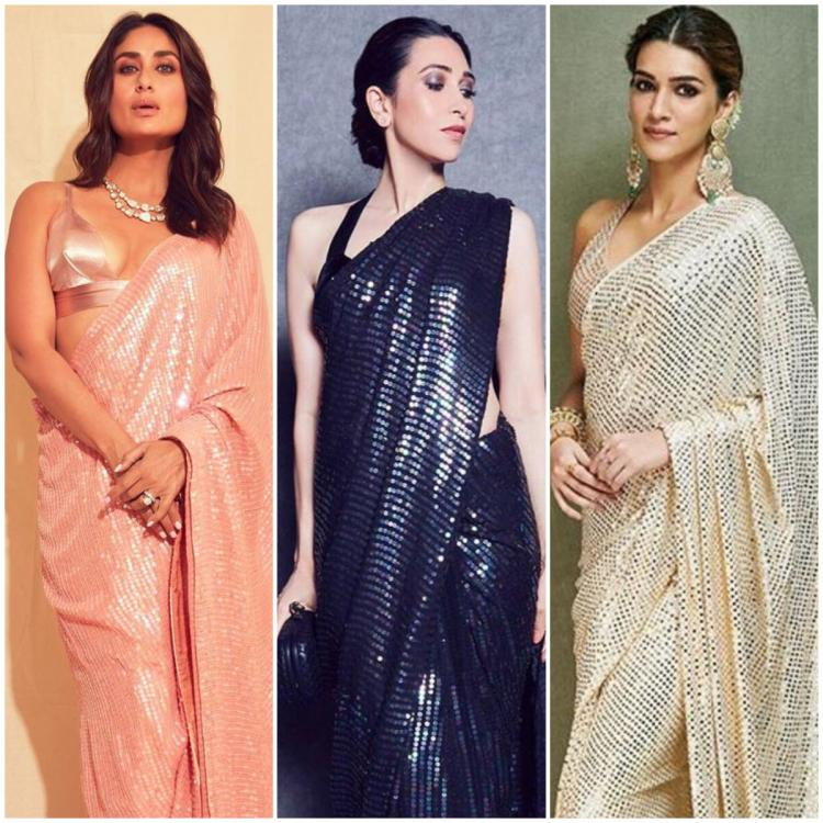 Try These Sequin Saree Looks to Make a Style Statement