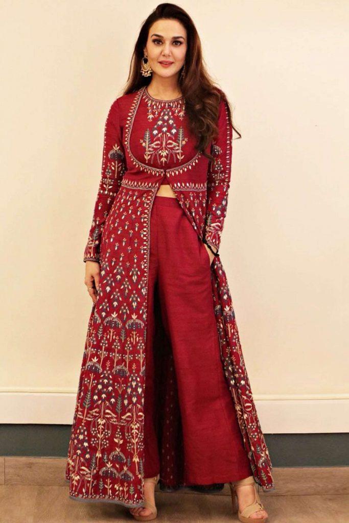 Jacket-style Anarkali Suits
