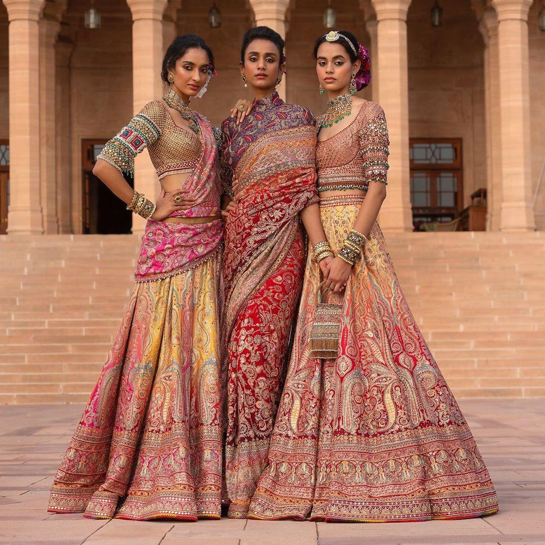 Shine Bright in a Multicolor Bridal Lehenga This Wedding Season