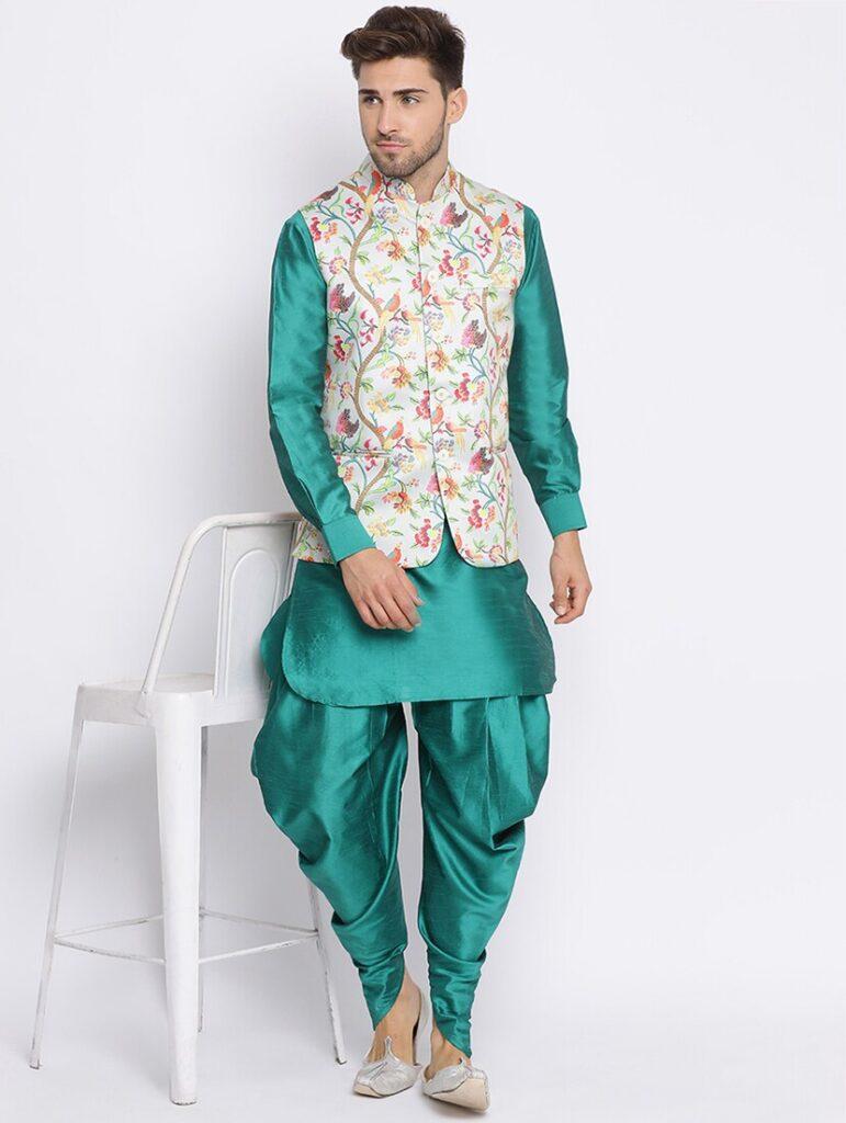 Dhoti-kurta-jacket